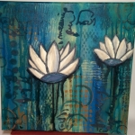 Lotus Flower Canvas 5