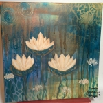 Three lotus flowers 1