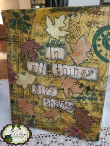 All I can do is say thank you. mixed media art created by www.carmenwhitehead.com