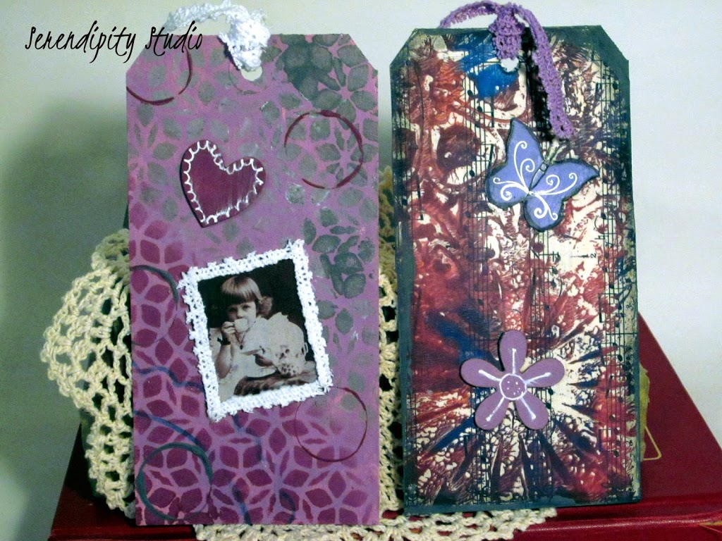 summer of color, mixed media tags