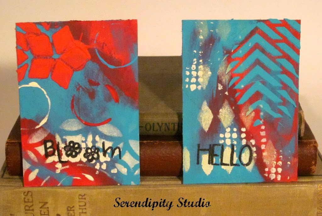 atc cards, summer of color four