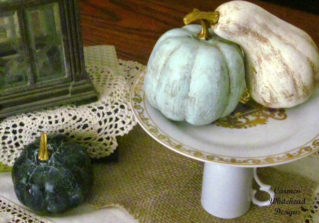 Chalky Finish Pumpkins Carmen Whitehead Designs