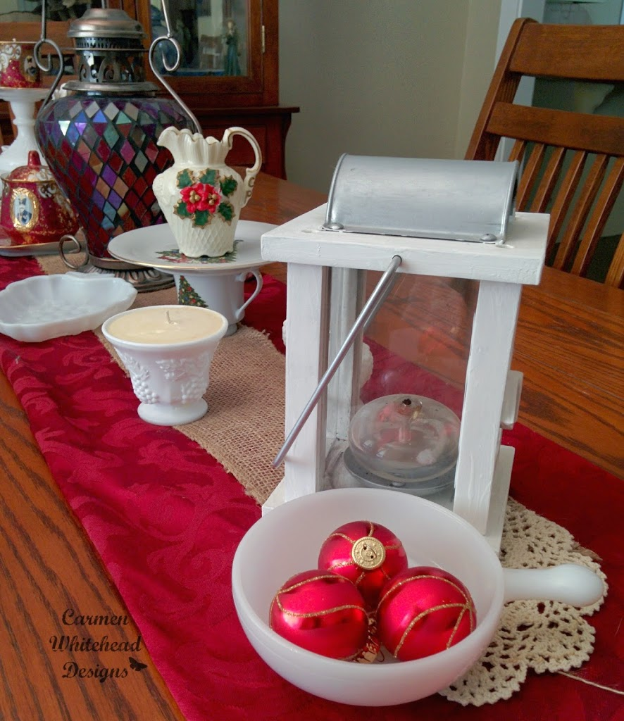Vintage Christmas with Milk Glass Collection