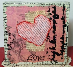 The Torn Hearts Collection by Carmen Whitehead Designs