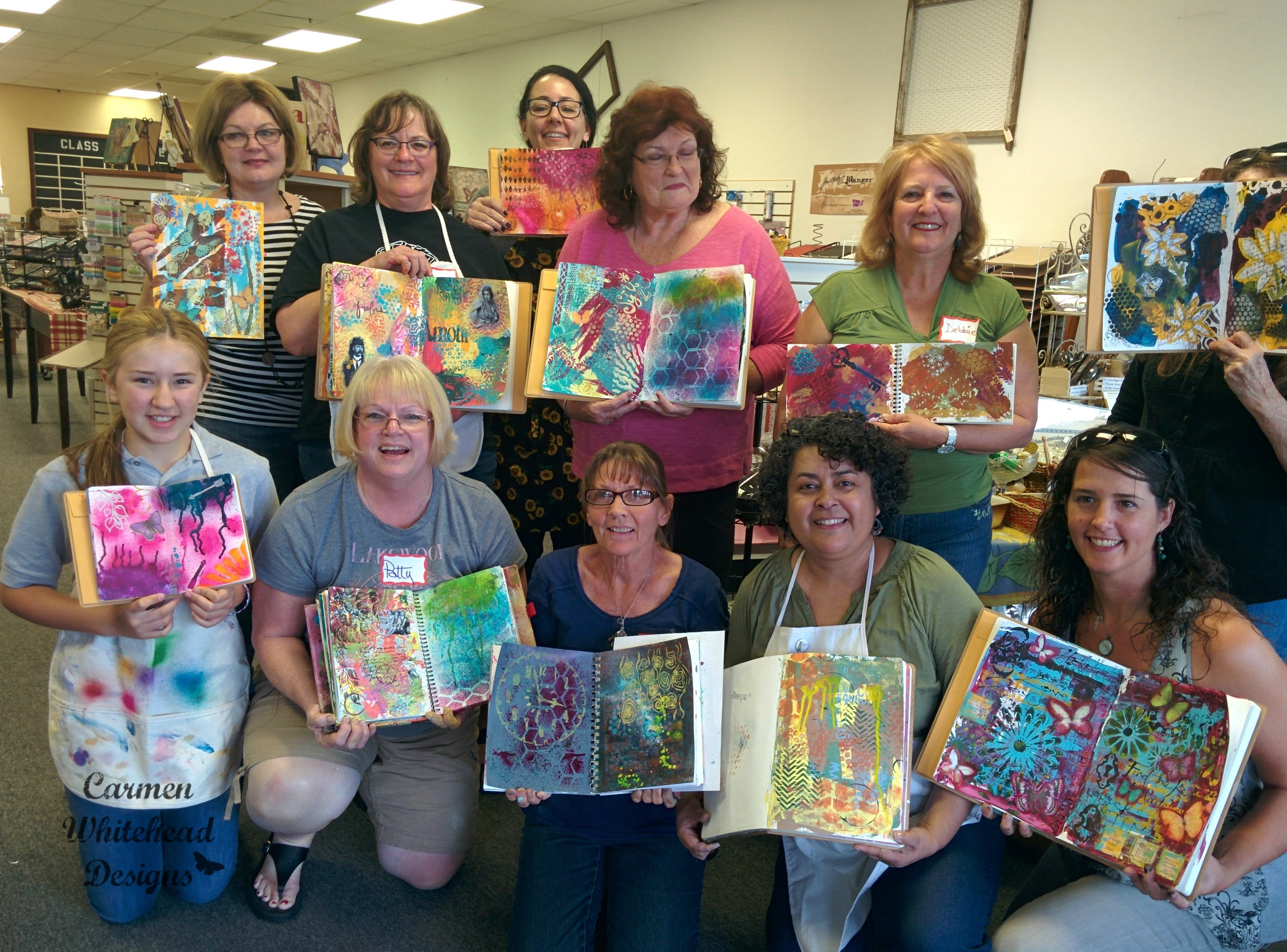 Art Journaling Workshops 2015