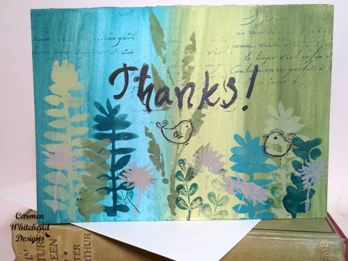 Mixed Media Card for The Craftr's Workshop