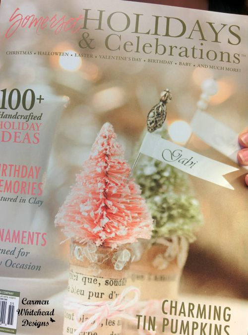 Carmen Whitehead Designs featured in Somerset Holidays & Celebrations 2015