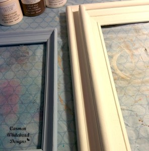 Chalky Finish old wood frames by www.carmenwhitehead.com