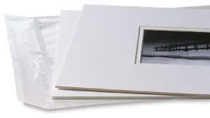 3 in 1 system for displaying matted prints
