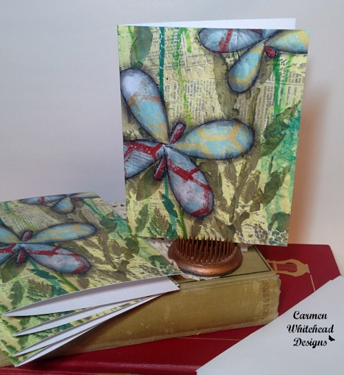 5 pack of note cards - 2015 Holiday Gift Guide www.carmenwhitehead.com