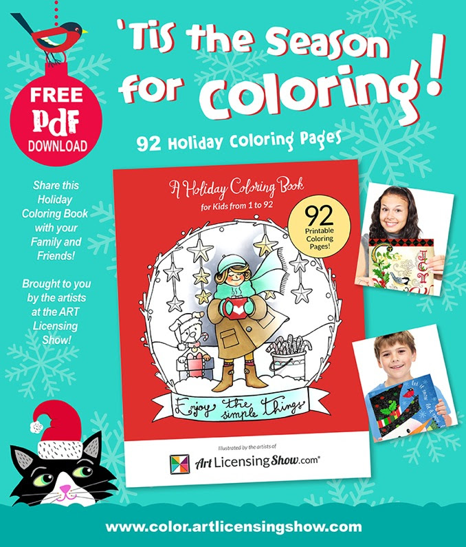 Download the ALSC Holiday Coloring Book PDF, I'm on page 65! www.carmenwhitehead.com