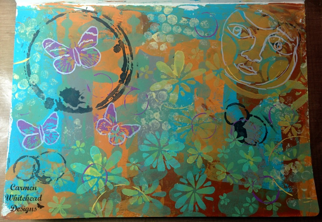 june art journal page 2