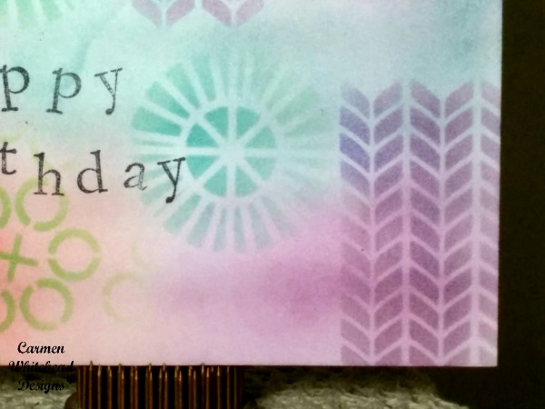 Distress ink card 2
