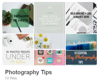Photography tips by Carmen Whitehead Designs Pinterest board