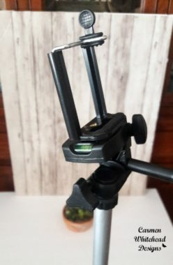 """50""""tripod with smartphone mount"""