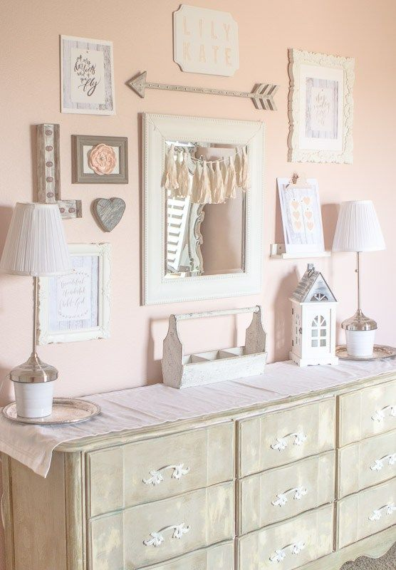 Baby Girl Room Wall Decor] Best 25 Baby Girl Rooms Ideas On ...