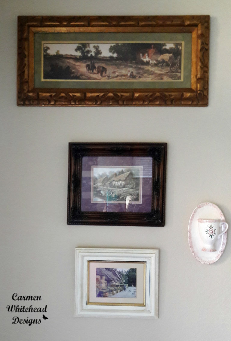 Creating a dining room gallery wall carmen whitehead designs for Dining room gallery wall