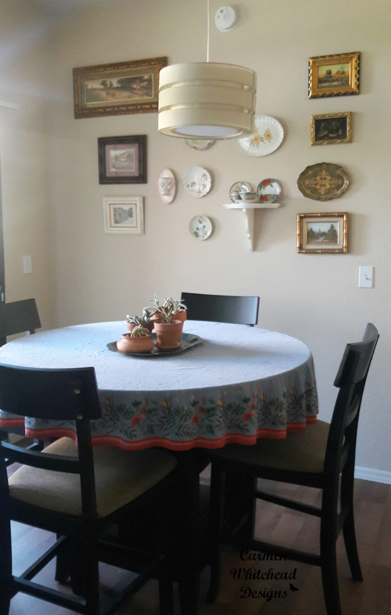 Creating A Dining Room Gallery Wall Carmen Whitehead Designs