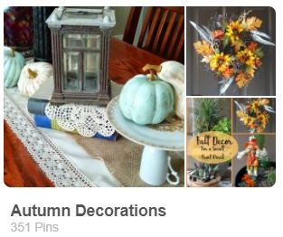 Autumn decorations pinterest board for Carmen Whitehead Designs