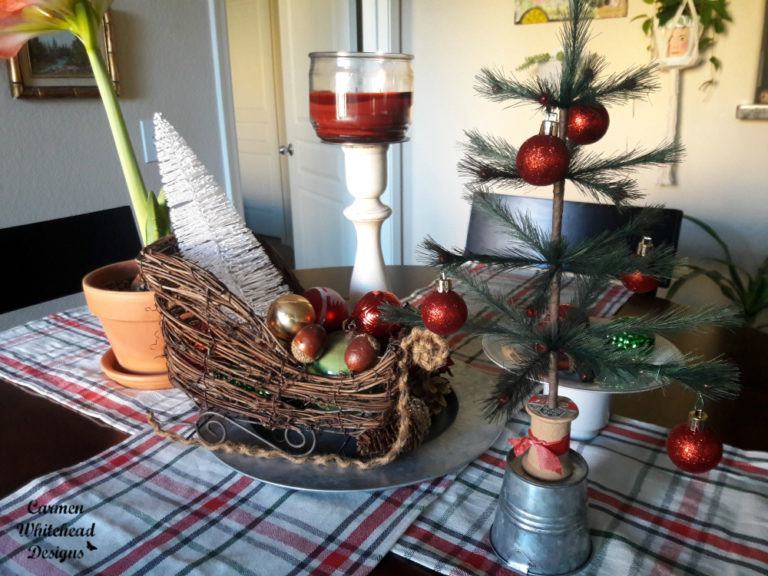 Vintage Christmas Decor by Carmen Whitehead Designs