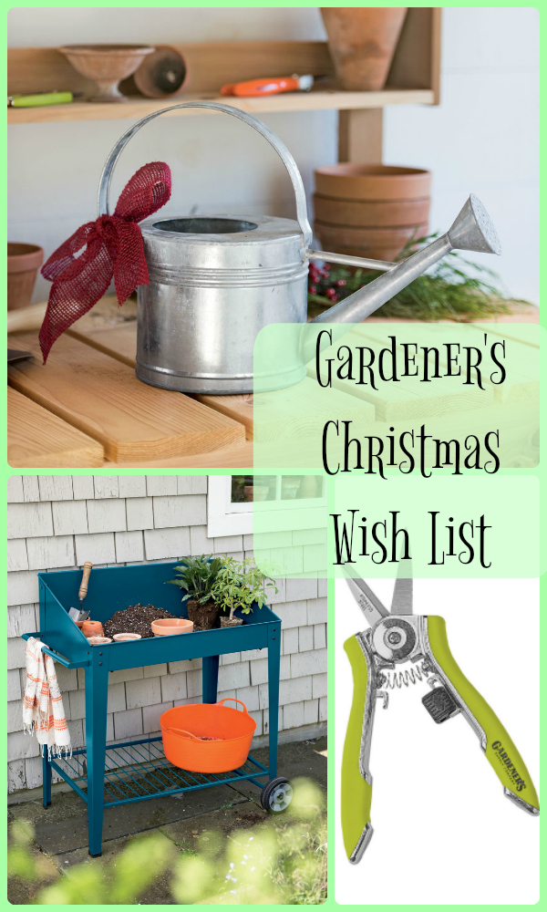 Gardener's Christmas Wish List by Carmen Whitehead Designs