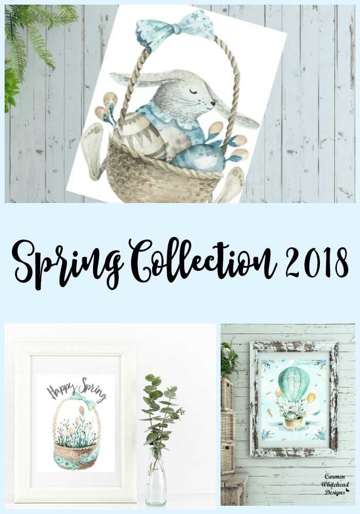 Spring Collection 2018 - Carmen Whitehead Designs