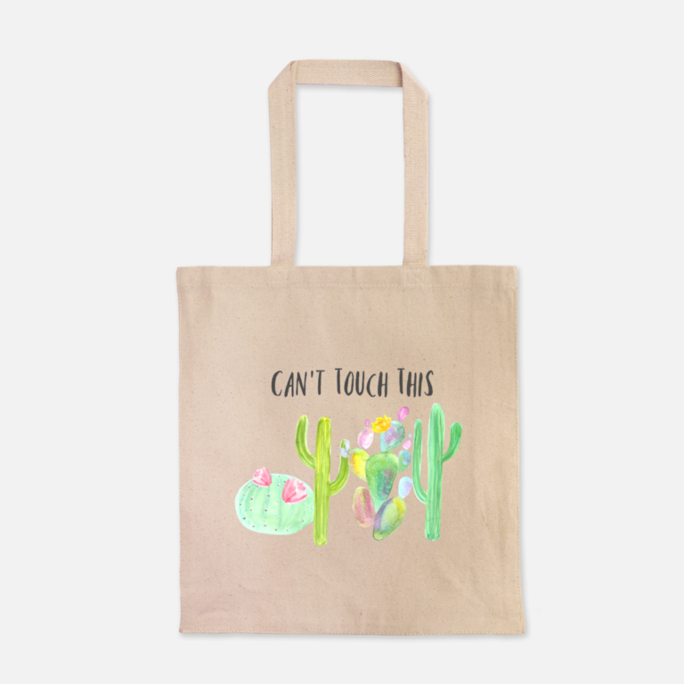 New succulent and cacti tote bag in my shop - Carmen Whitehead Designs