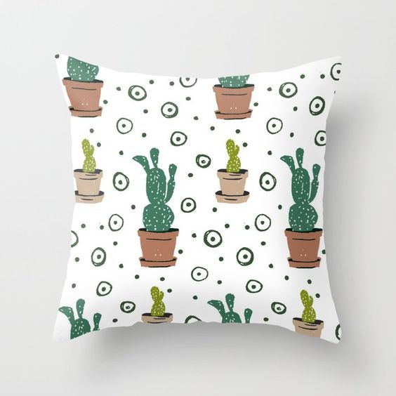New pillow designs from Carmen Whitehead Designs on Society6
