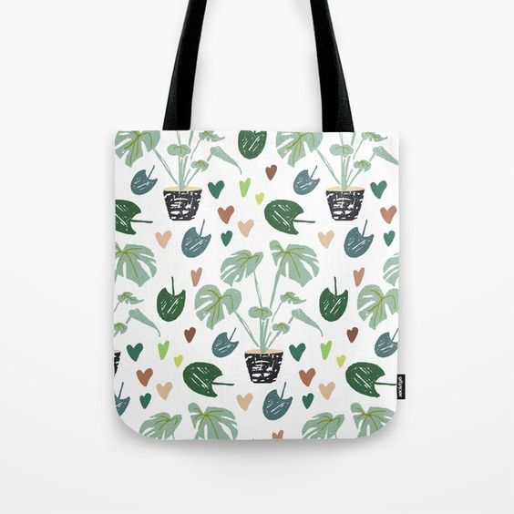 New plant designs from Carmen Whitehead Designs on Society6