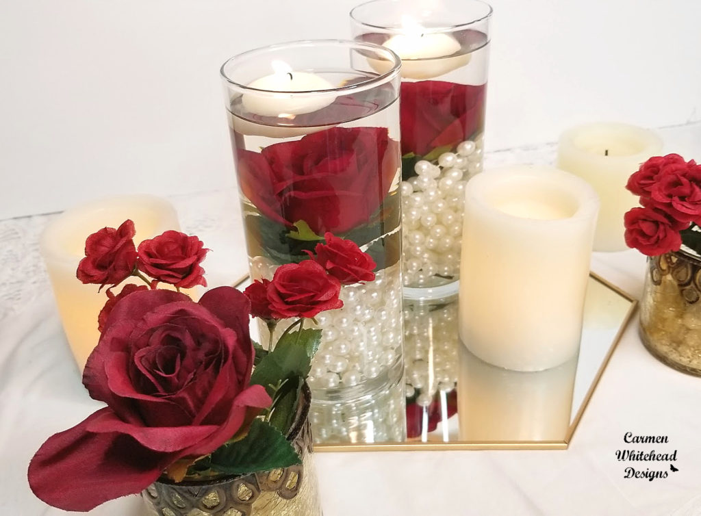 3 Wedding Centerpieces for under $10 each - Carmen Whitehead Designs