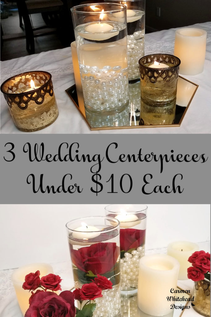 3 Wedding Centerpieces under $10