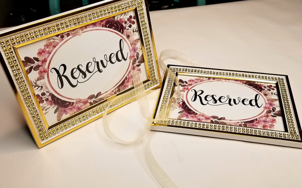 Wedding Signs Ideas - Carmen Whitehead Designs