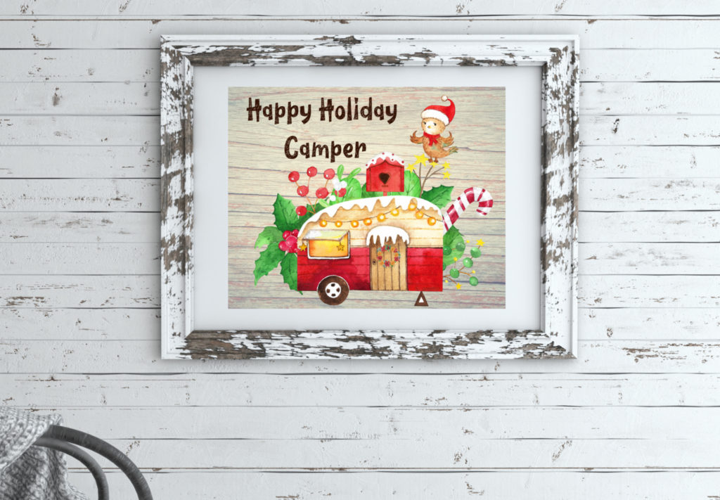 2019 Christmas Collection - Happy Holiday Camper